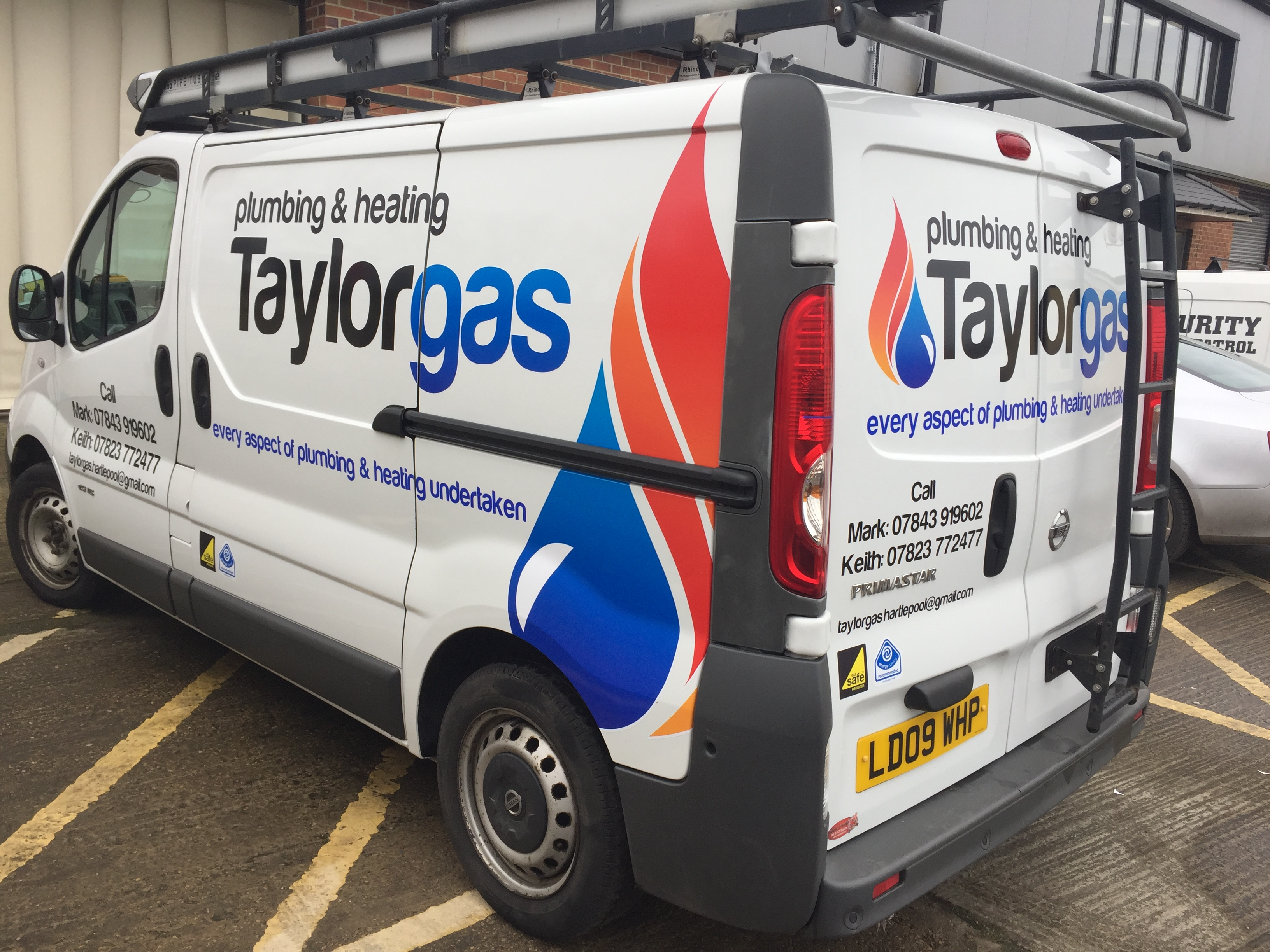 Vehicle graphics and logo rebranding