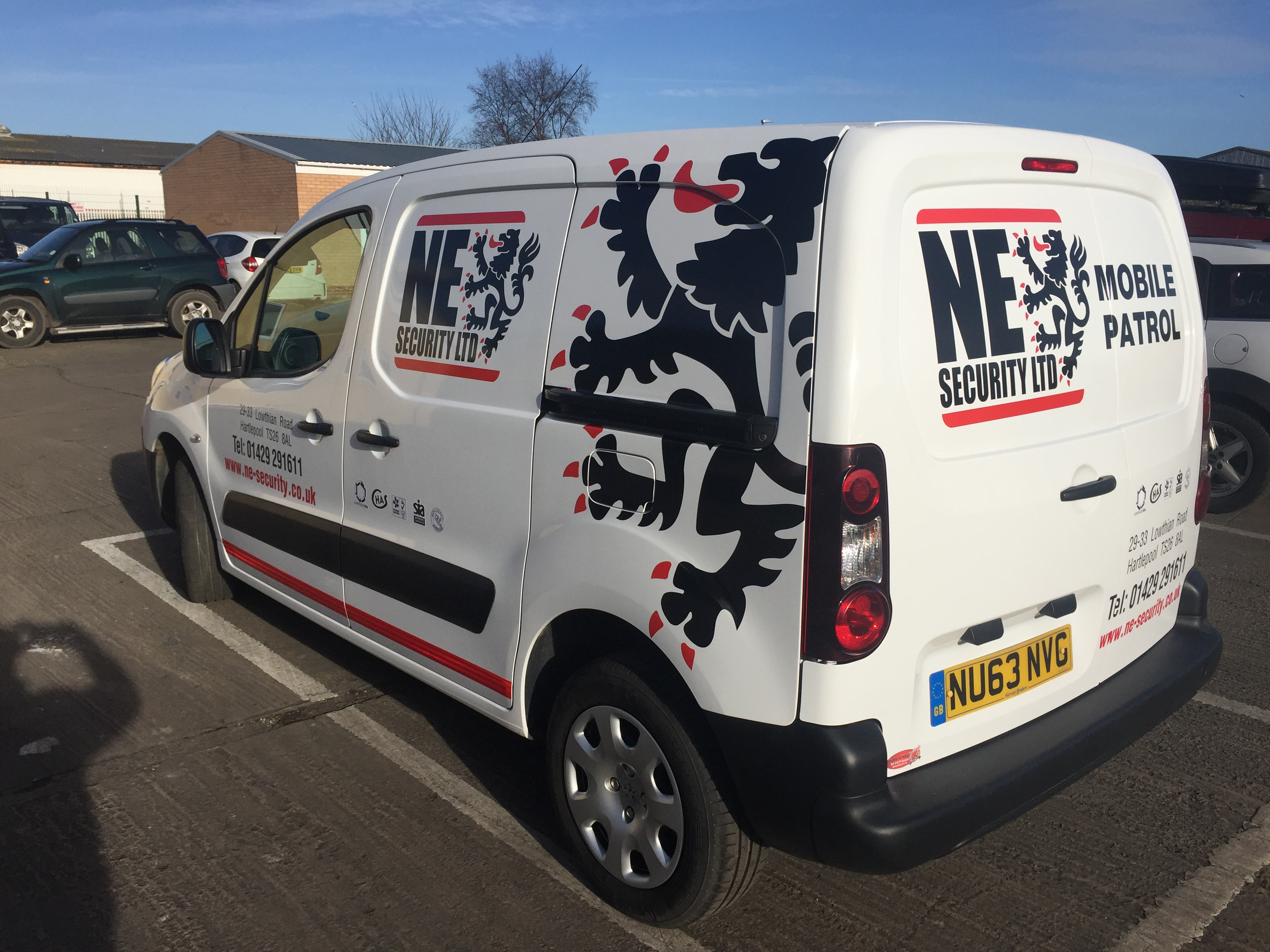 van signs re-branded