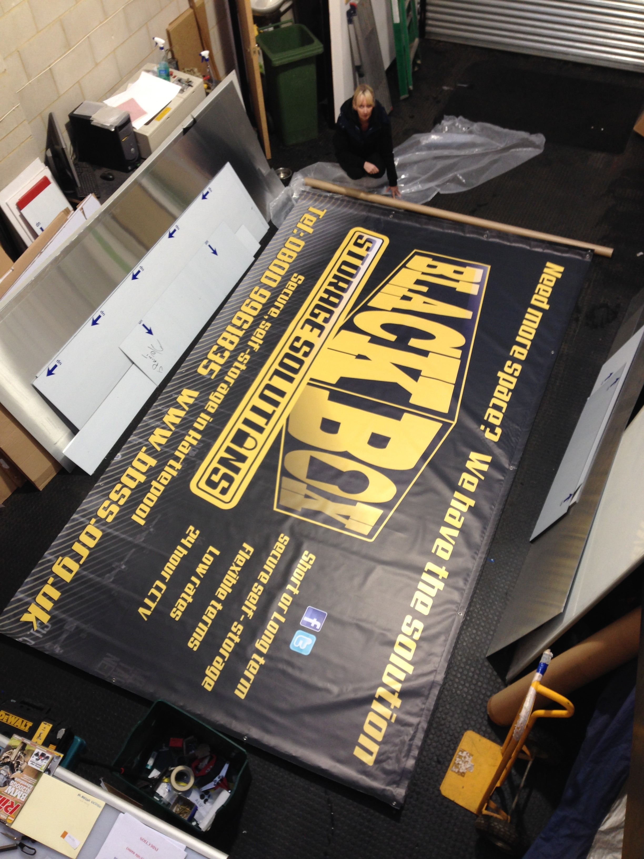 Wide Format Printed Banners Hartlepool