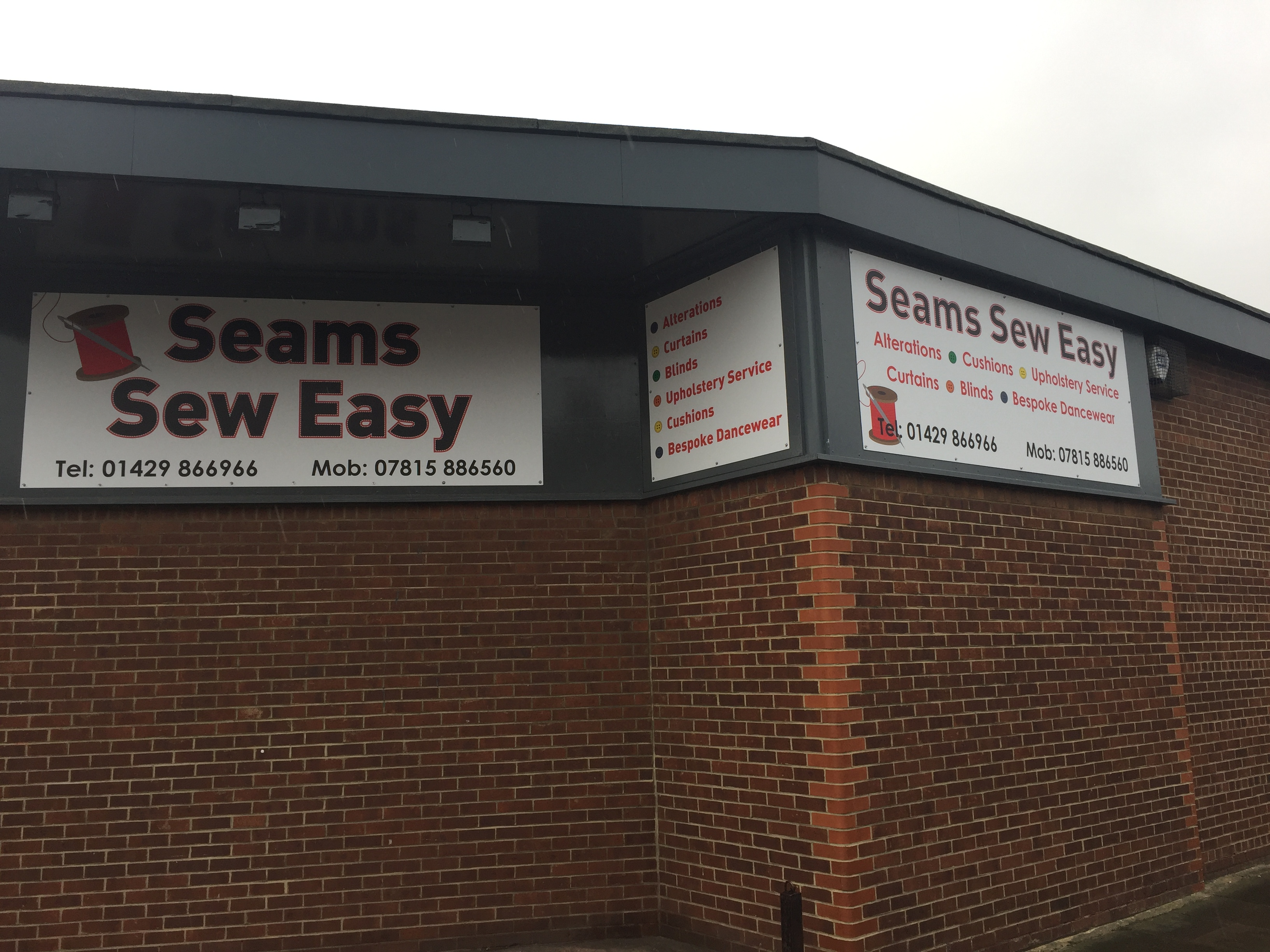 Composite Panel signs hartlepool