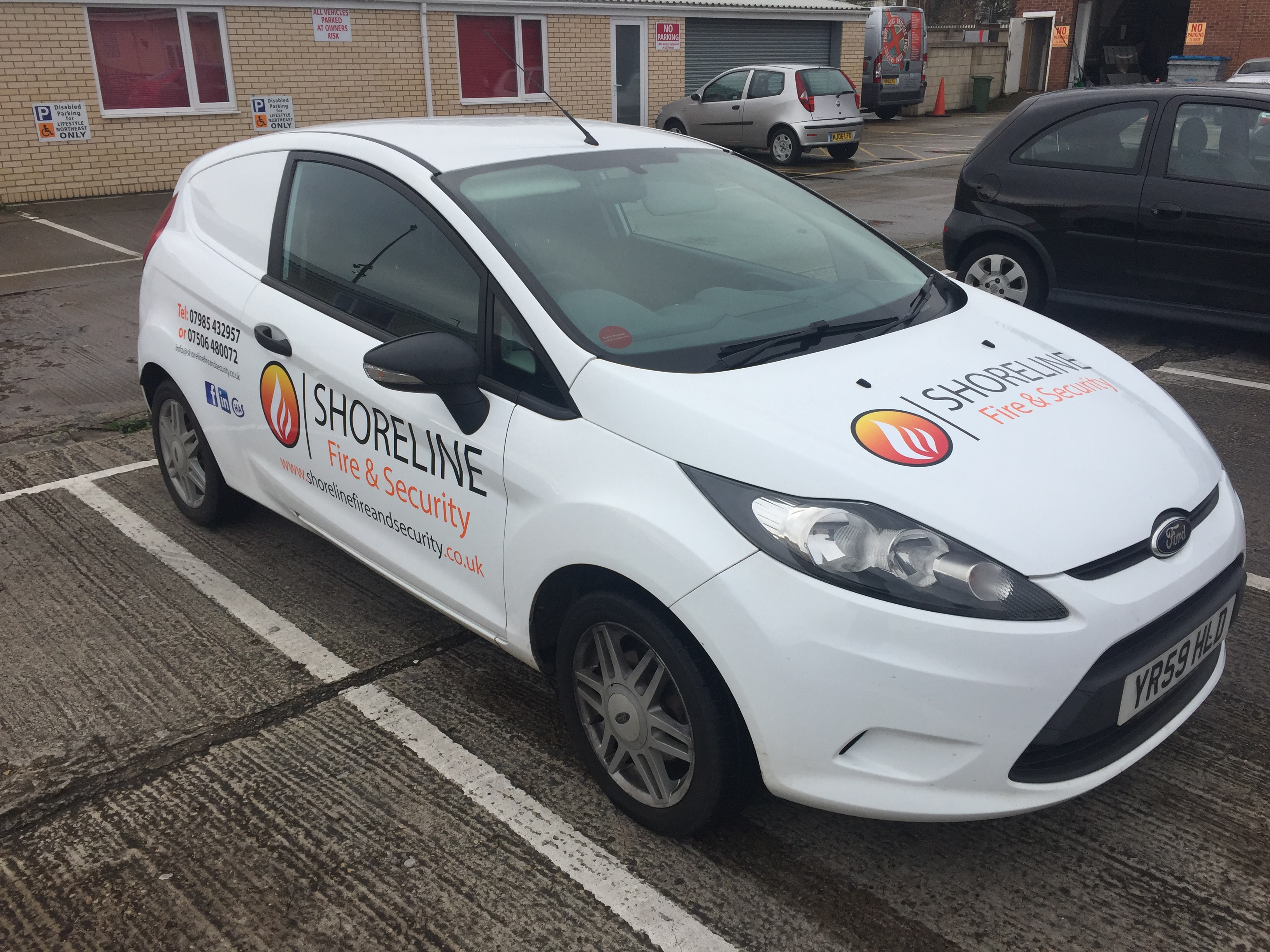 Bespoke Vehicle Graphics