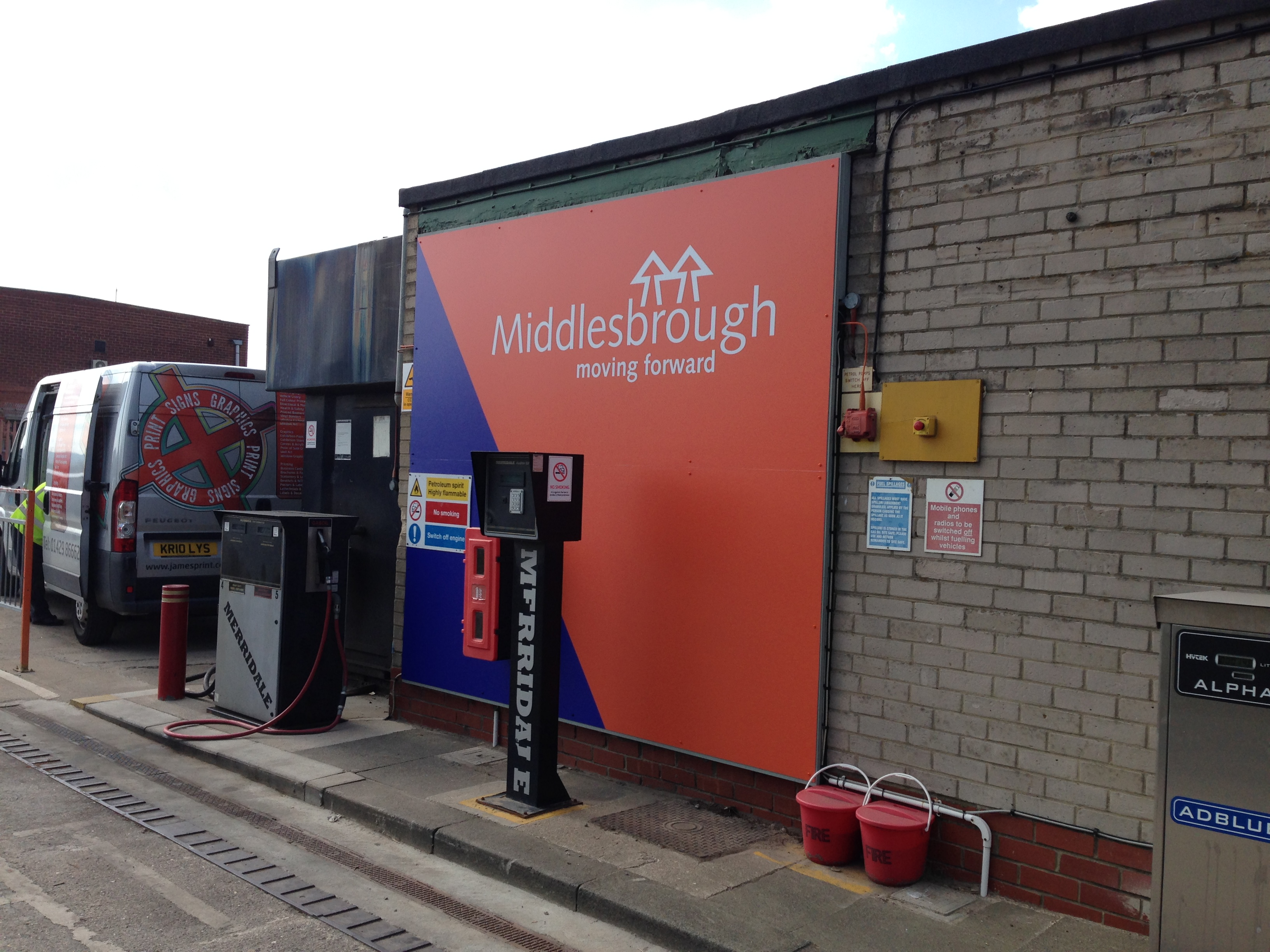 Digital Printed Signs Hartlepool and Middlesbrough
