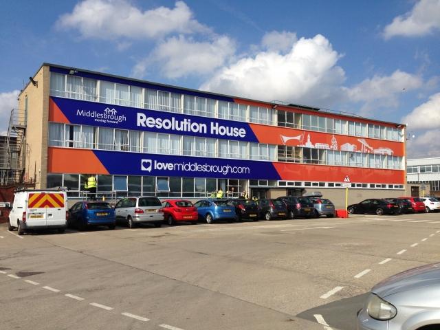 Middlesbrough Design Re branding