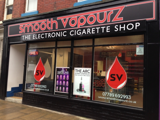 Smooth Vapourz Shop Front