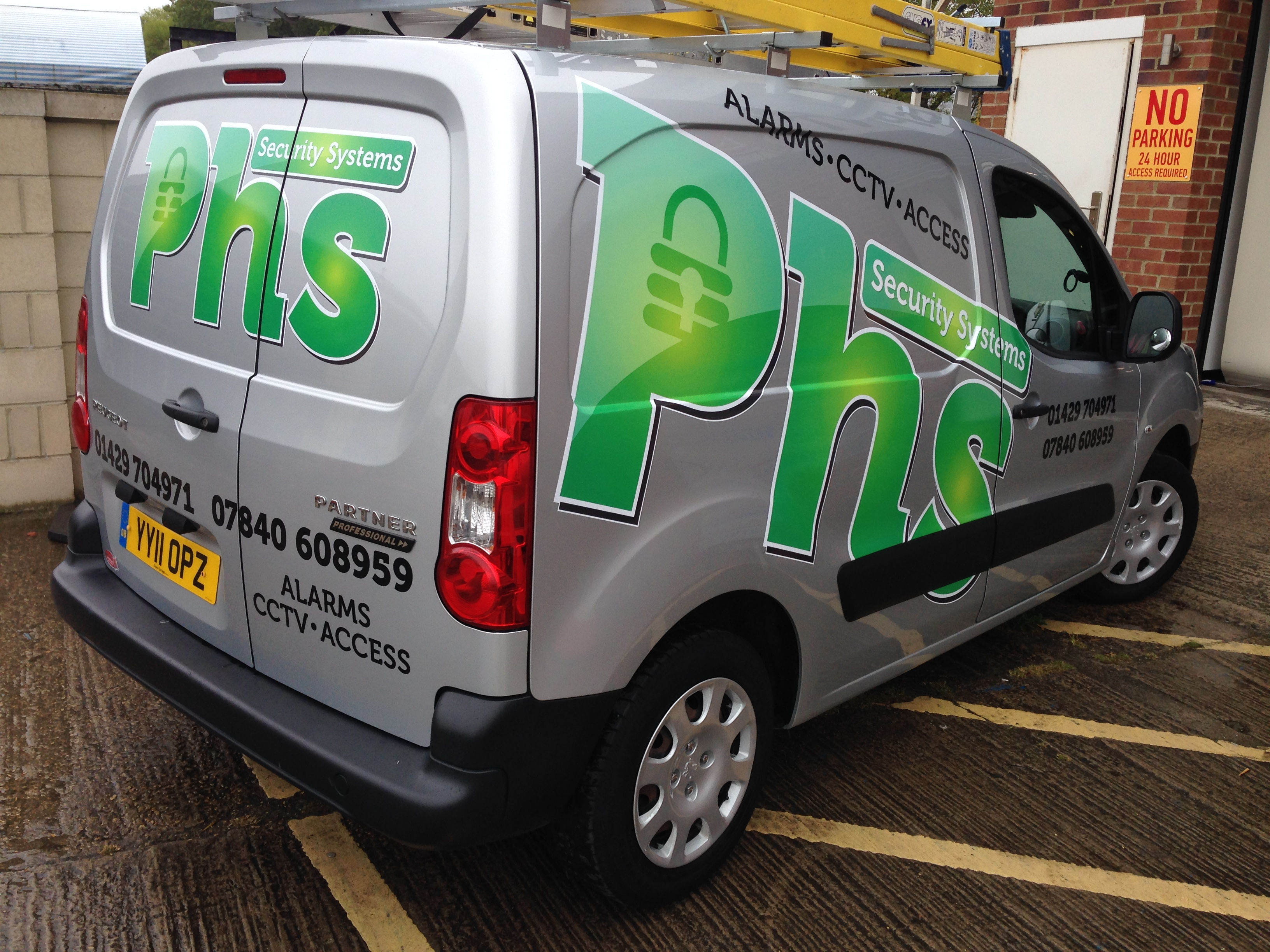 van graphics hartlepool
