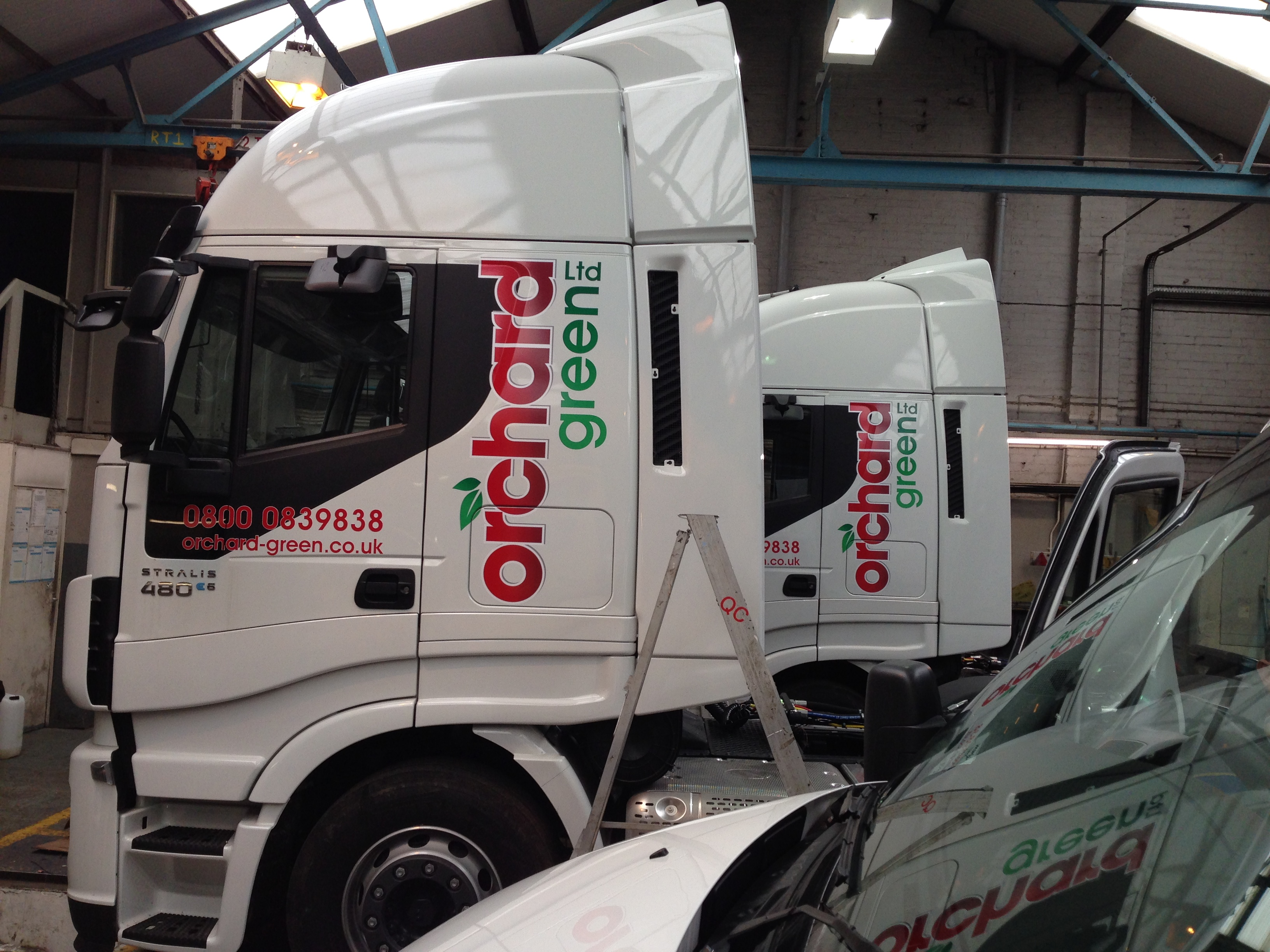Truck Graphics Hartlepool